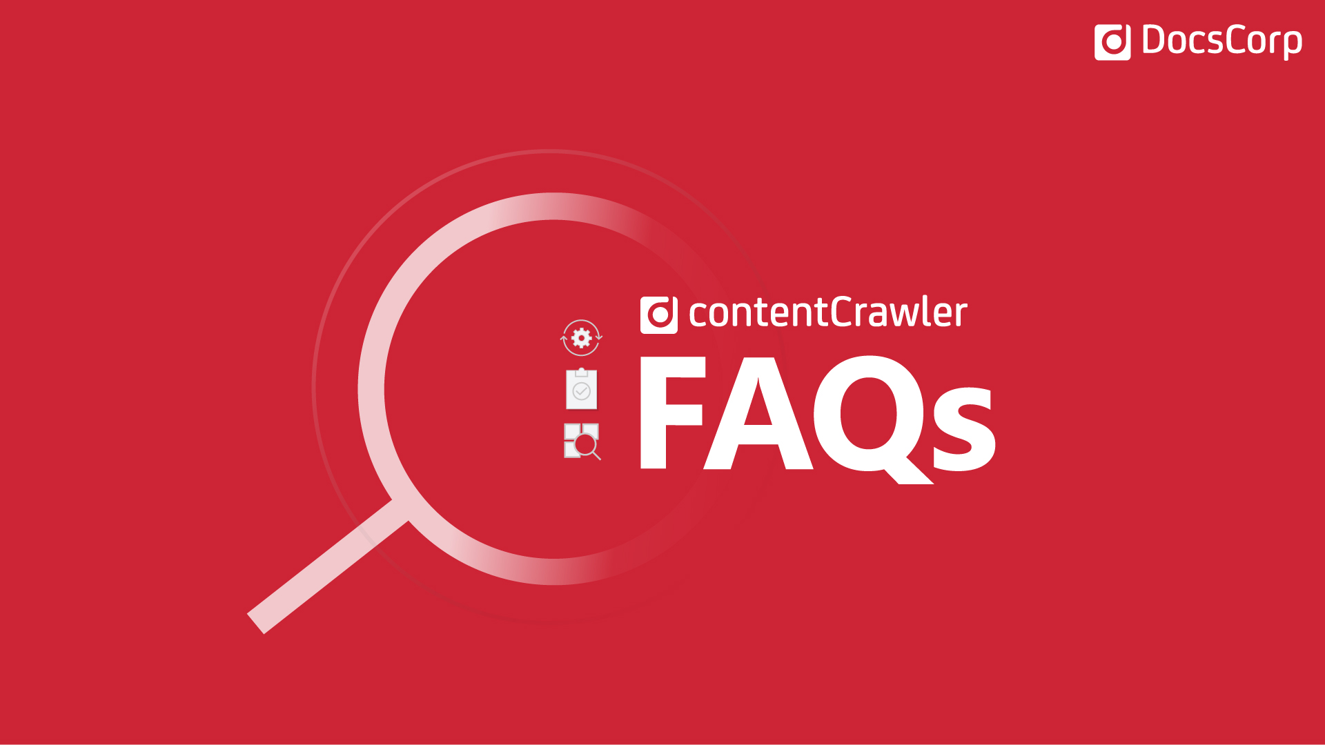 Answers to common contentCrawler questions