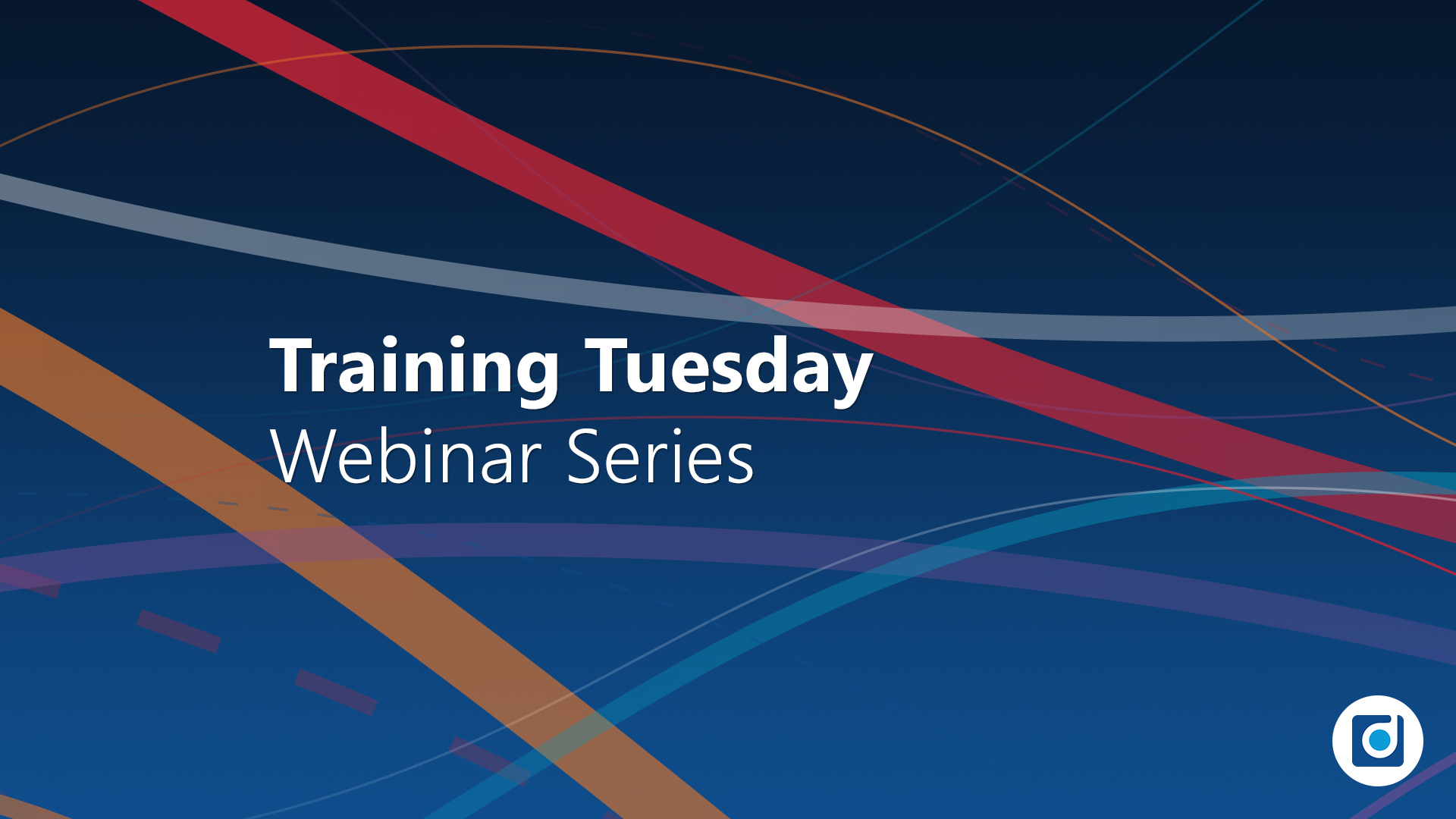 Product Training Webinar Series